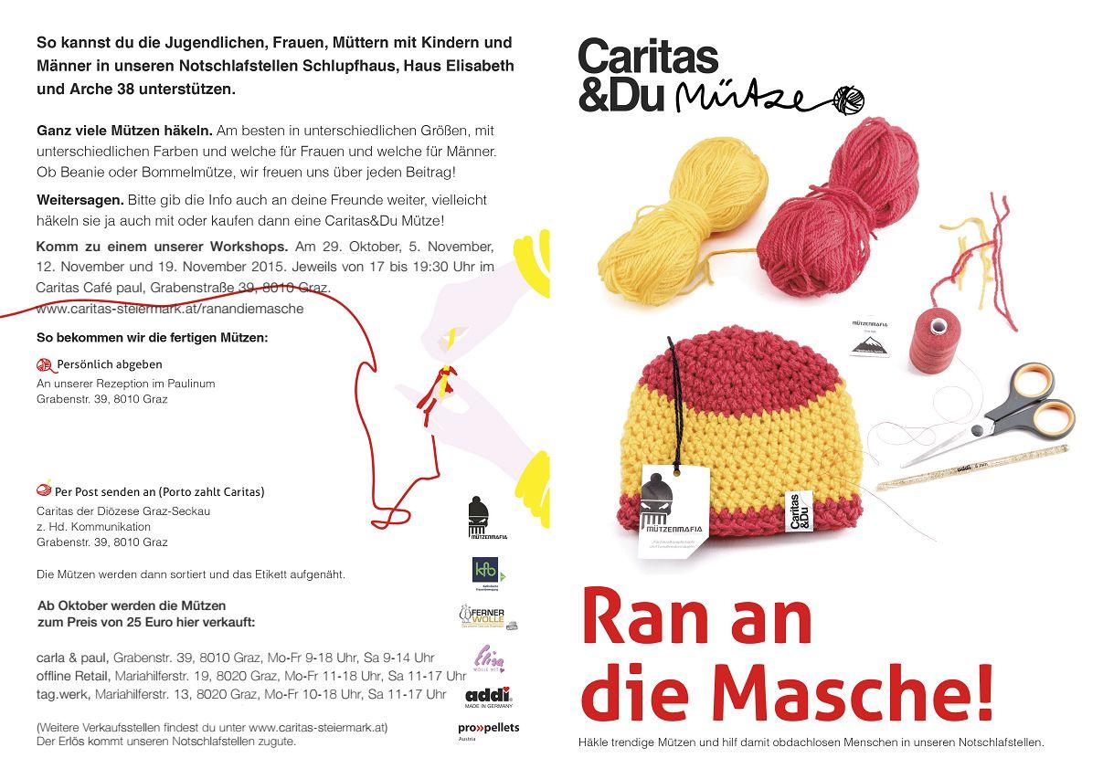 Ran An Die Masche Caritas Steiermark